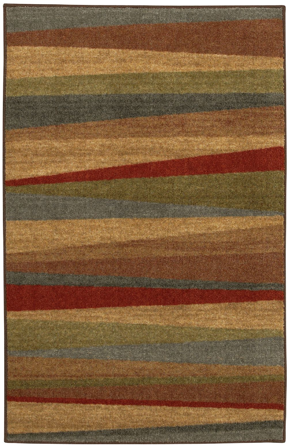 Mohawk Mayan Sunset Contemporary Area Rug Collection