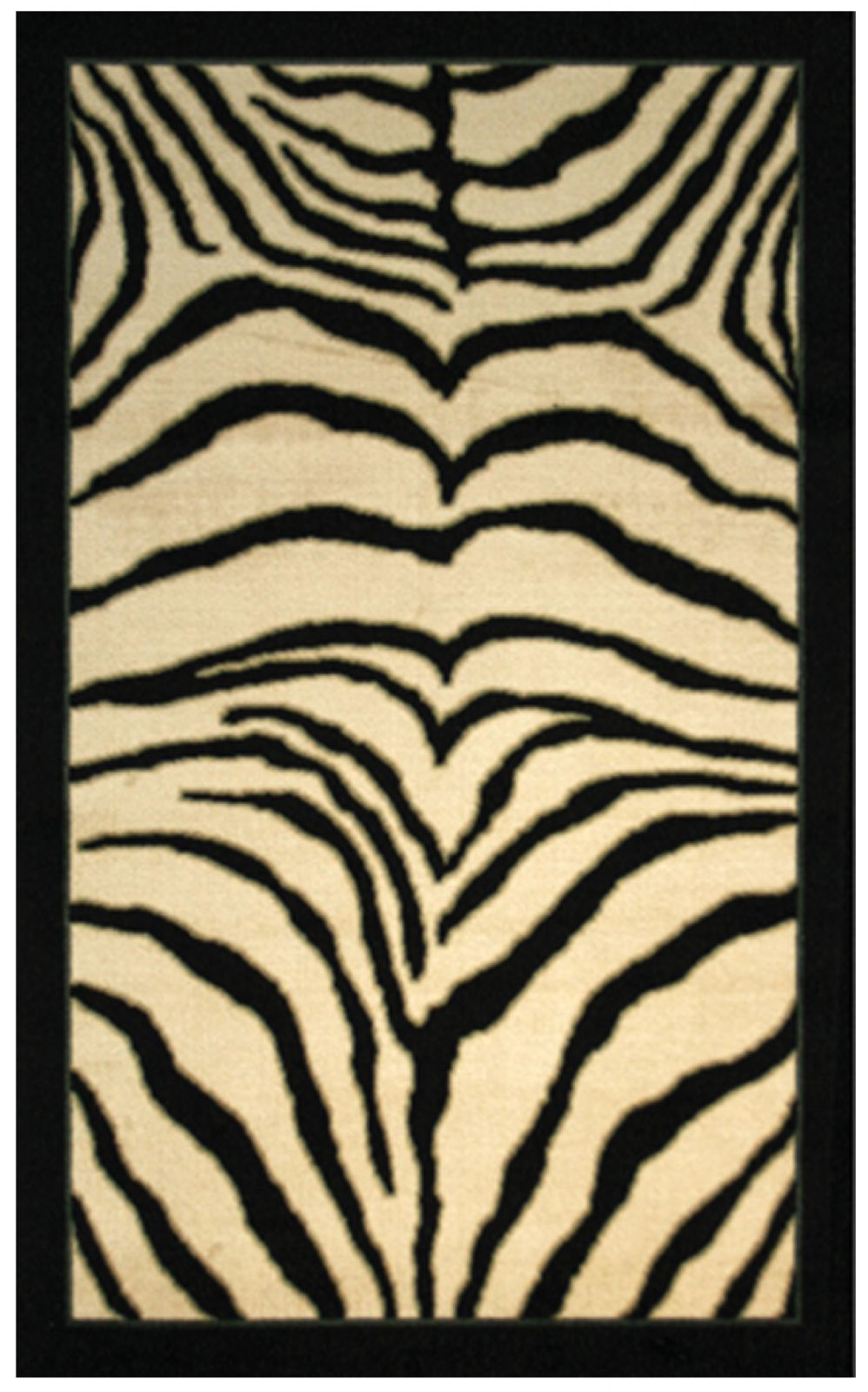 mohawk zebra safari animal inspirations area rug collection