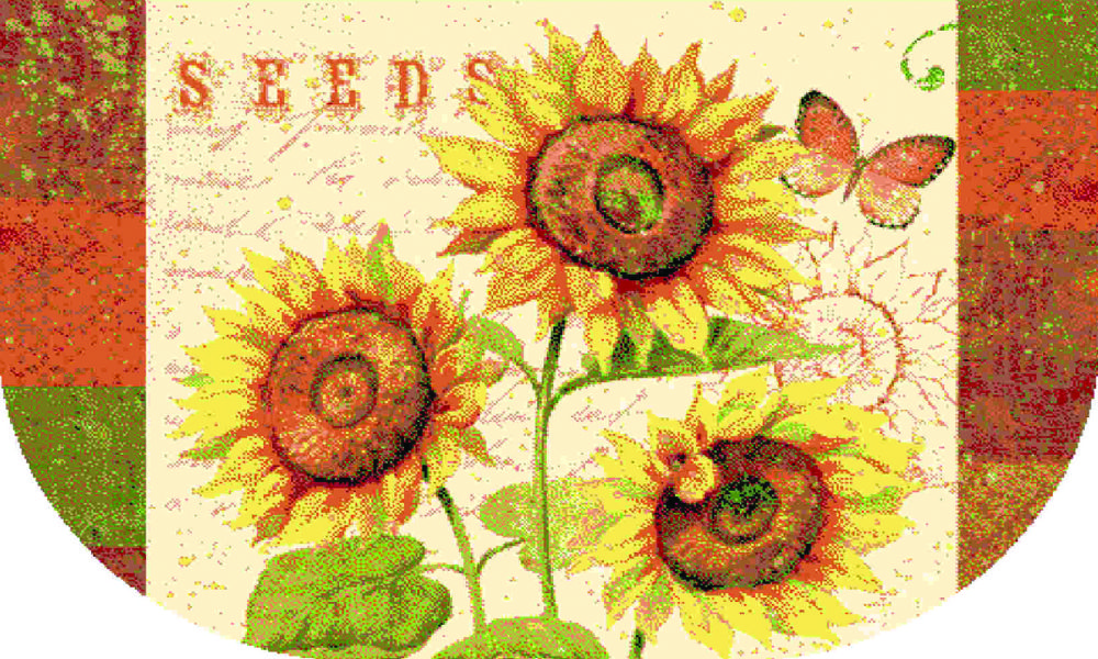 mohawk sunshine seeds novelty area rug collection