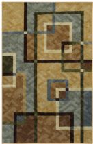 Mohawk Contemporary Overlapping Squares Area Rug Collection