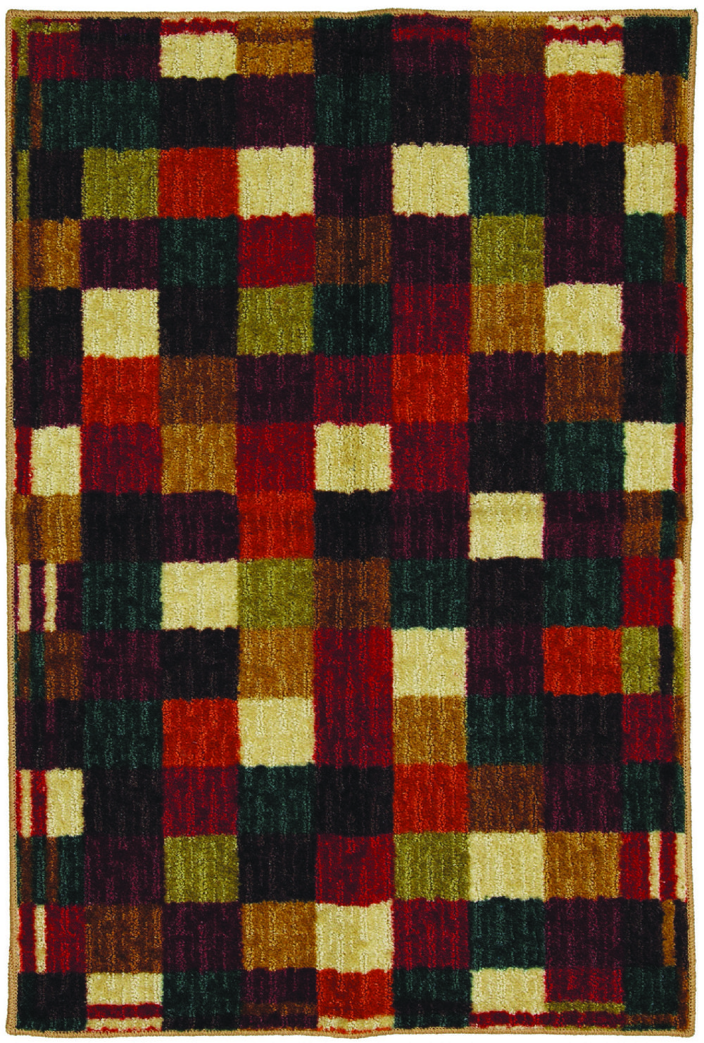 mohawk vibrant blocks contemporary area rug collection