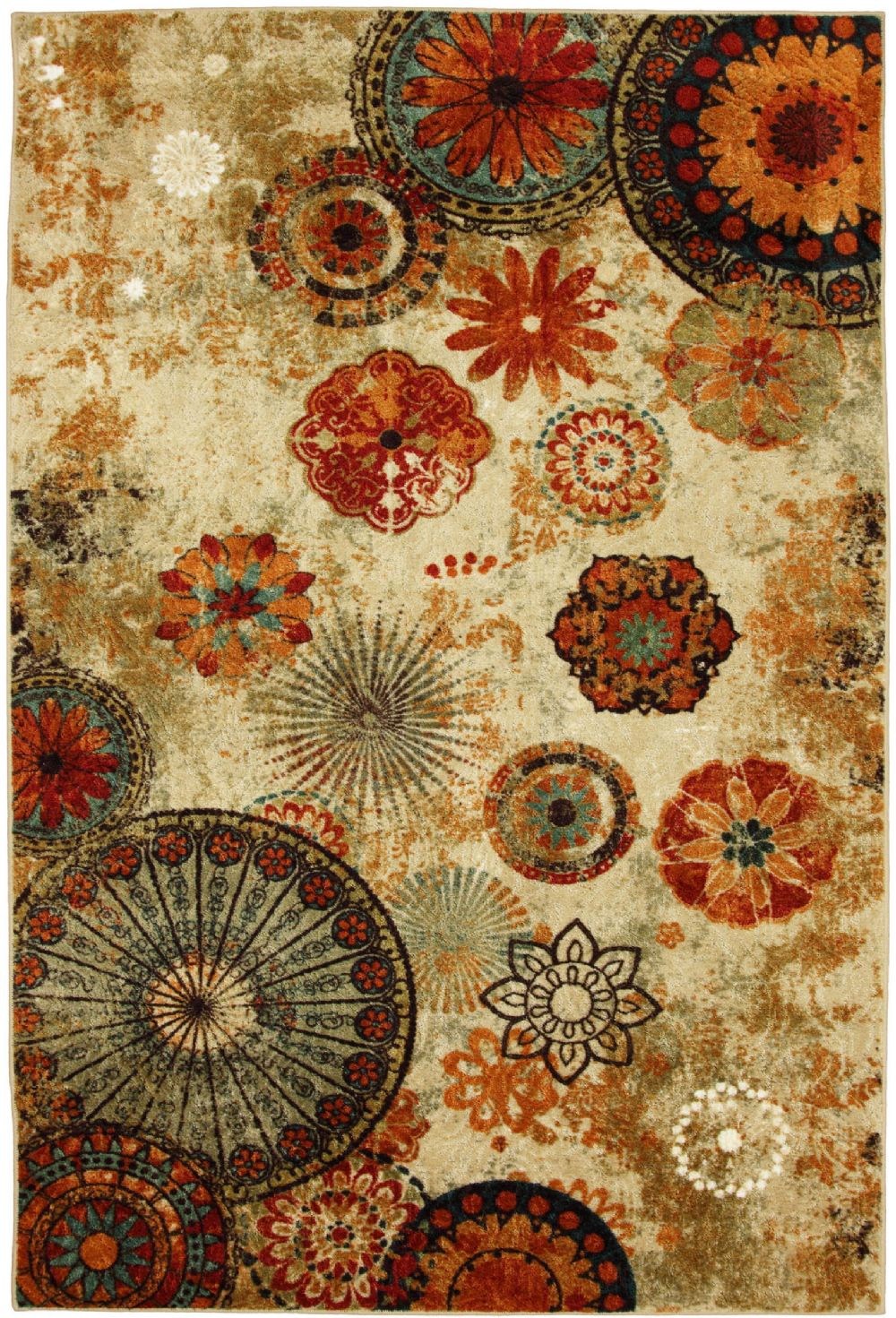 Mohawk Caravan Medallion Contemporary Area Rug Collection