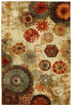 Mohawk Contemporary Caravan Medallion Area Rug Collection