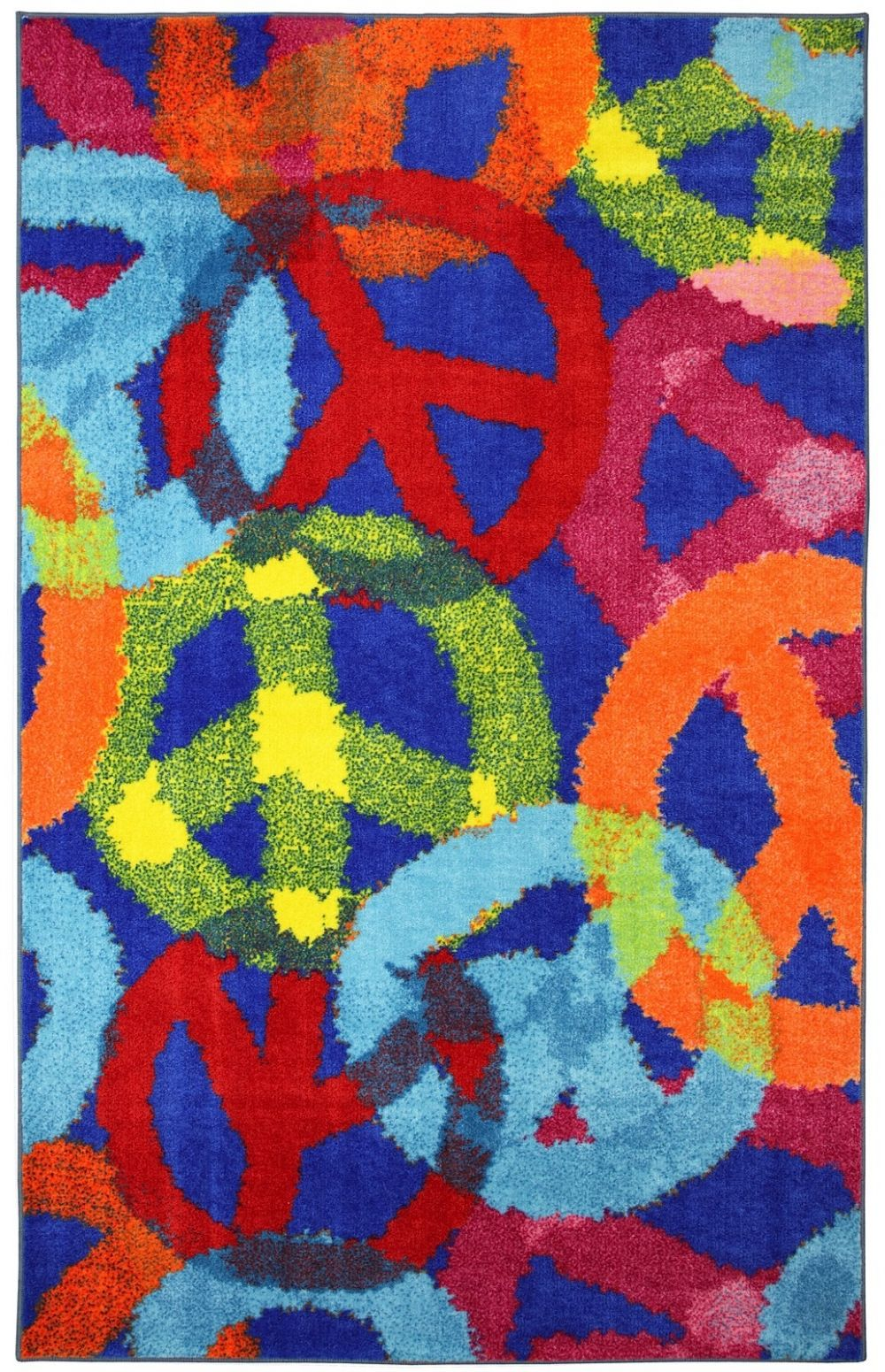 mohawk peace signs contemporary area rug collection