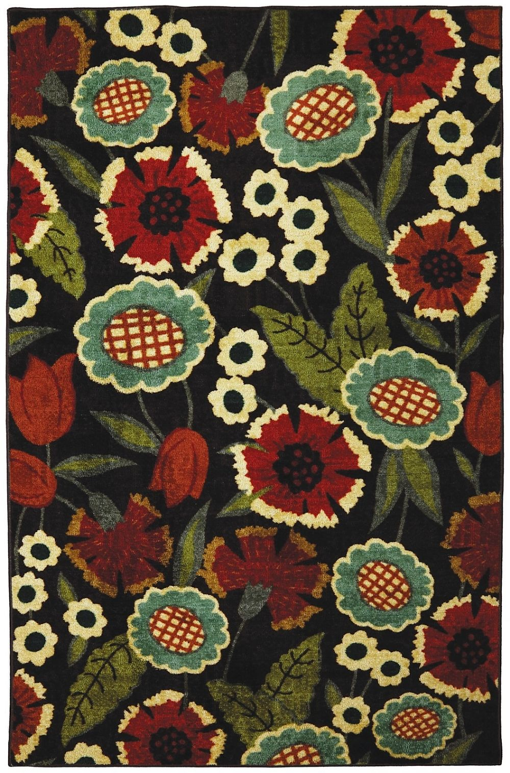 mohawk amy multi country & floral area rug collection