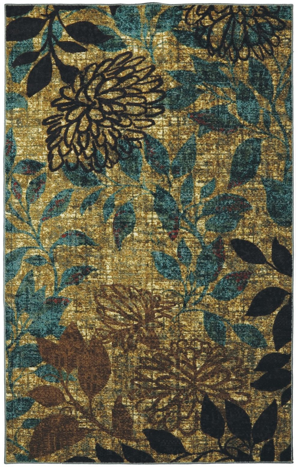 mohawk mystic garden multi contemporary area rug collection