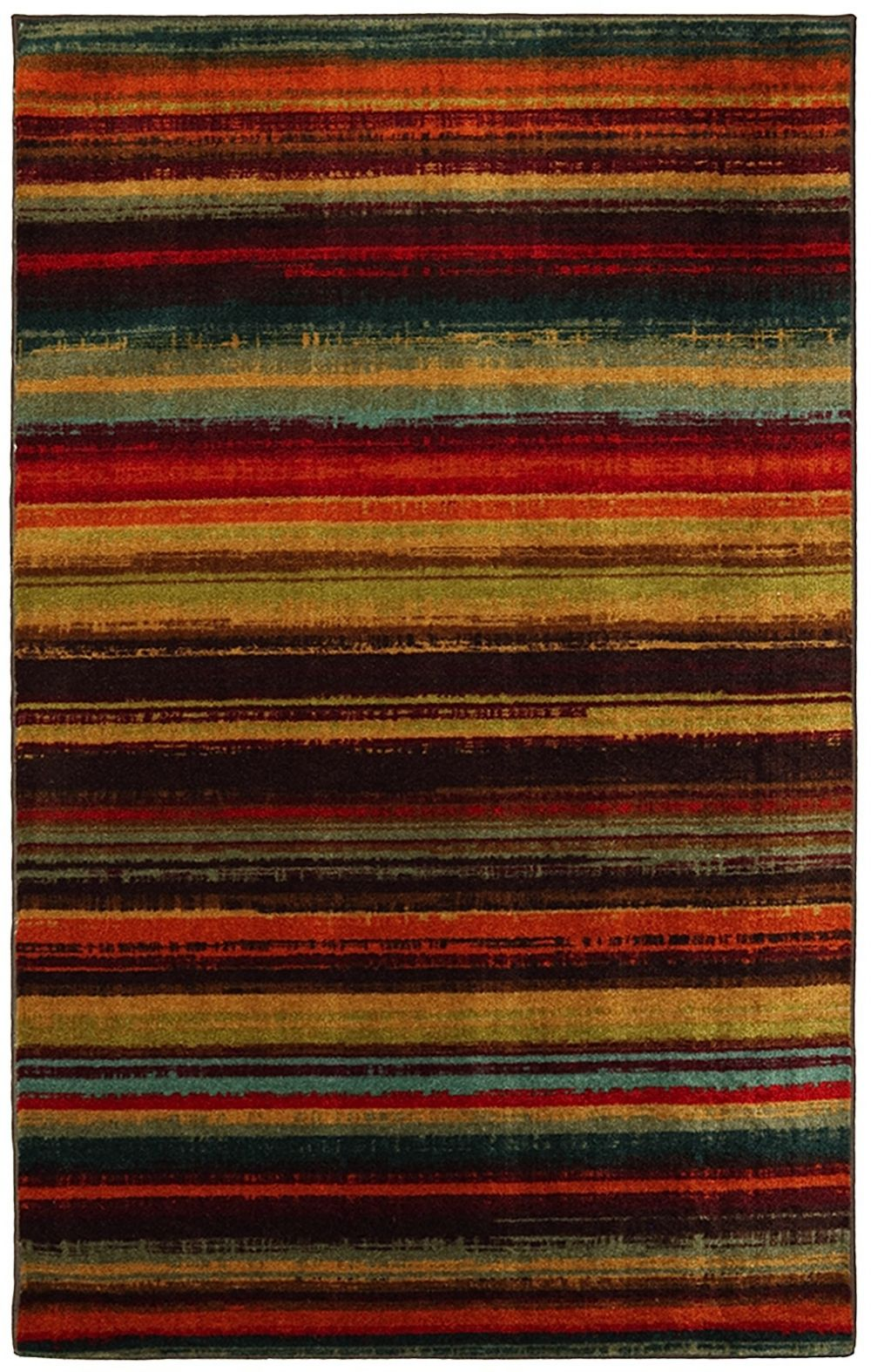 mohawk boho stripe solid/striped area rug collection