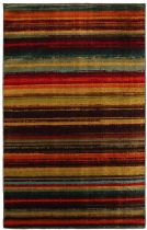 Mohawk Solid/Striped Boho Stripe Area Rug Collection