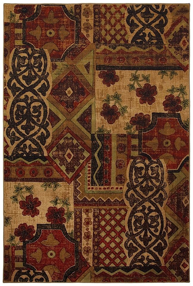 mohawk raymond waites royal entrance red contemporary area rug collection