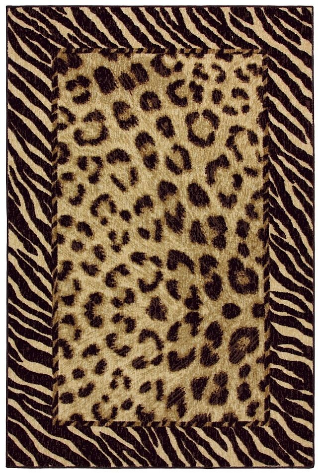 mohawk tigress animal inspirations area rug collection