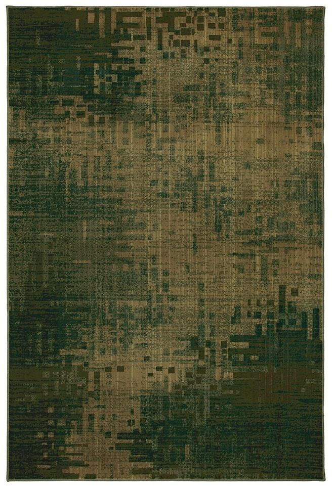 mohawk infero green contemporary area rug collection
