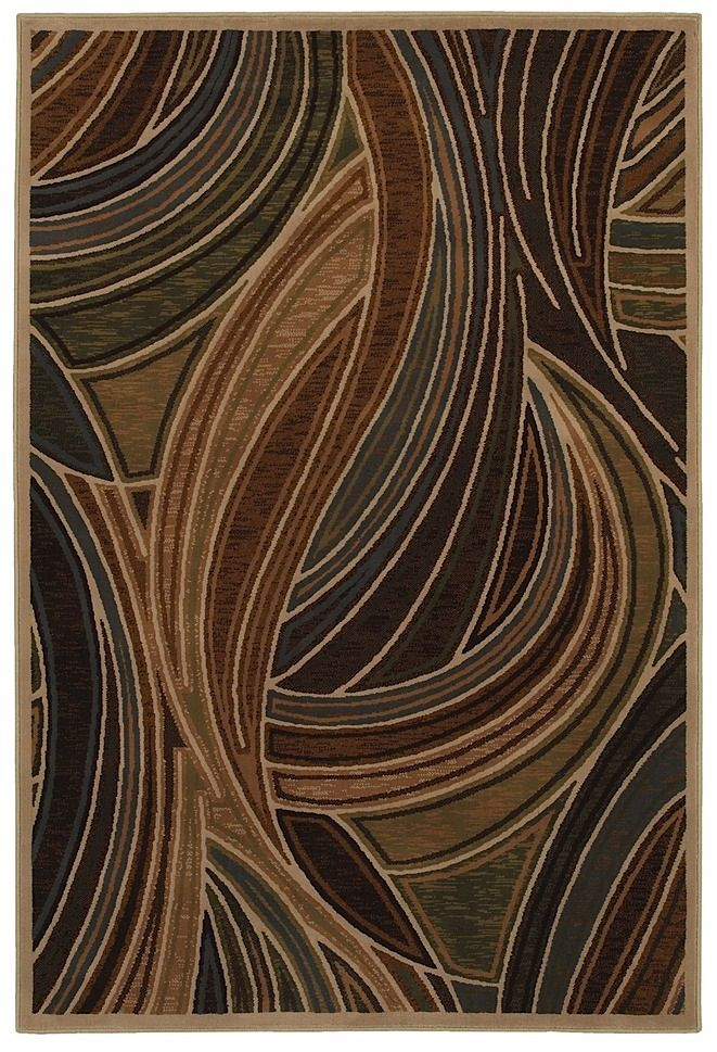 mohawk tidal wave blue contemporary area rug collection
