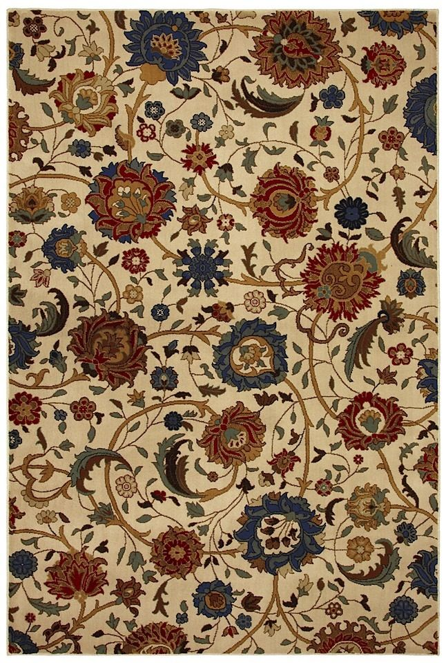 mohawk whispering vines country & floral area rug collection