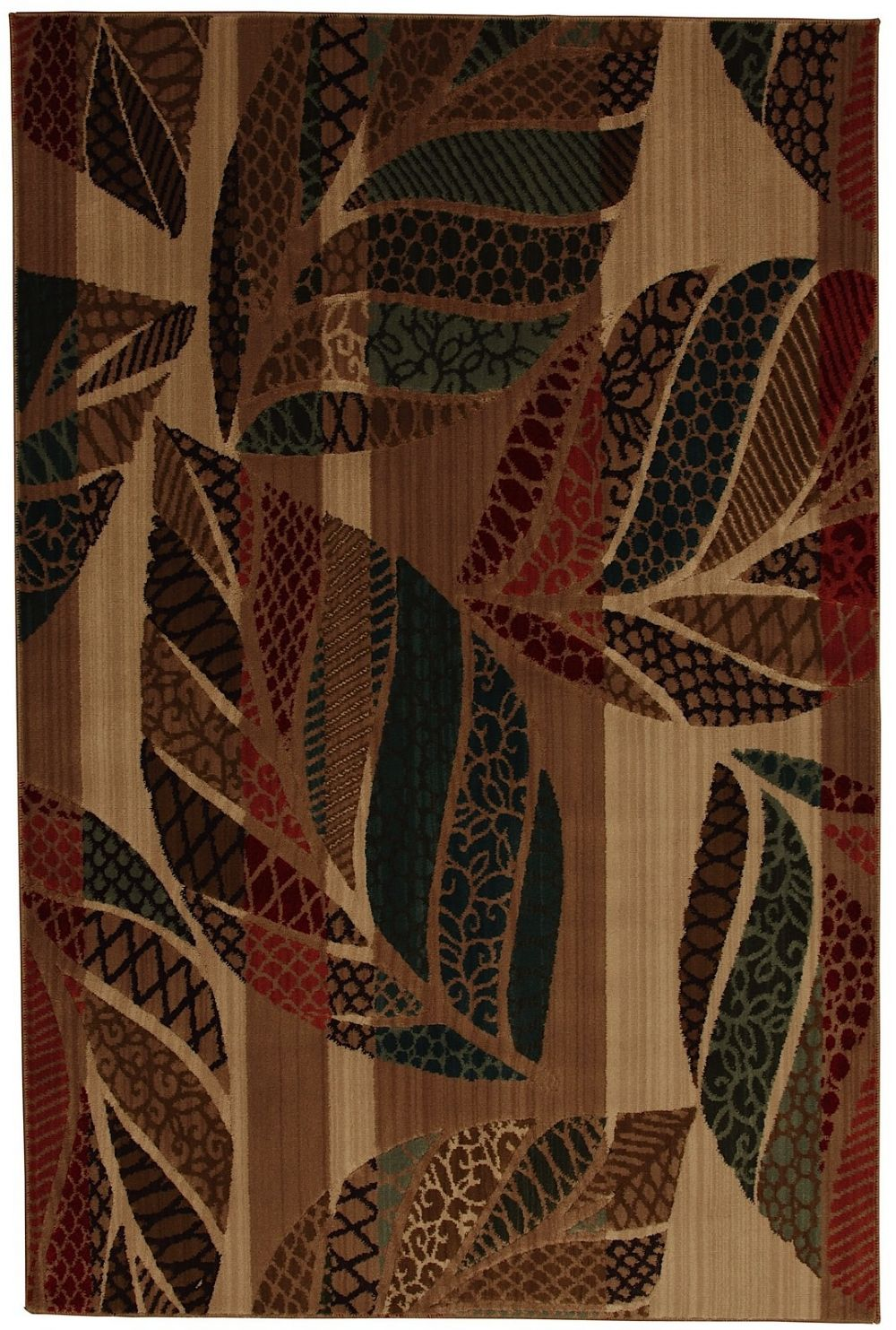 mohawk quilted leaves contemporary area rug collection