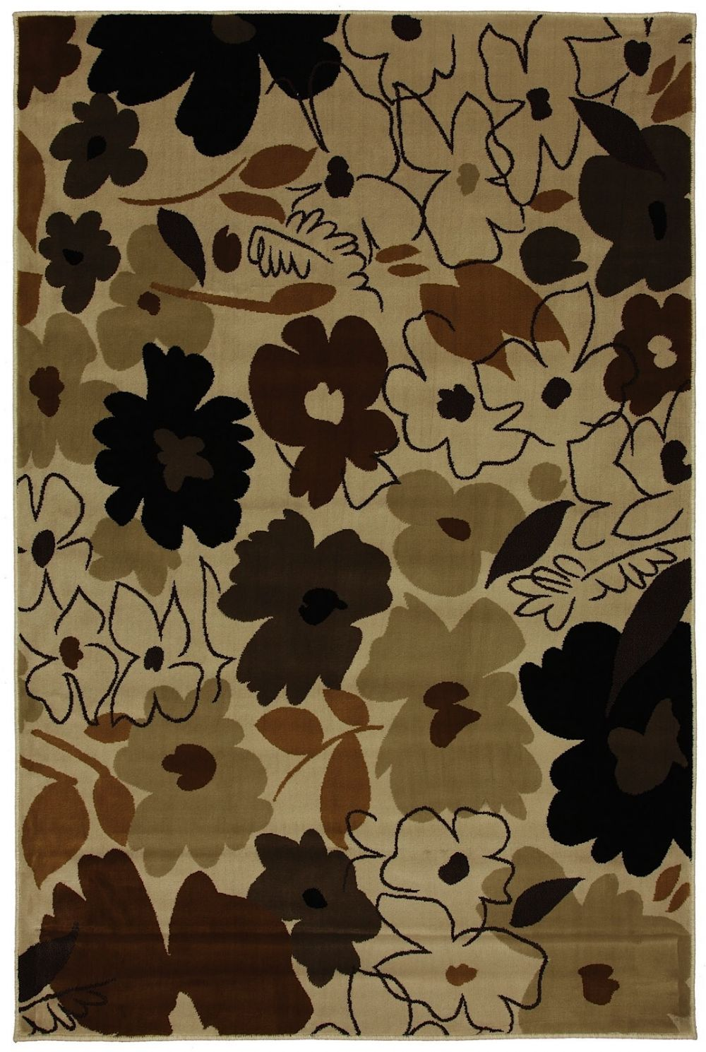 mohawk painted garden contemporary area rug collection