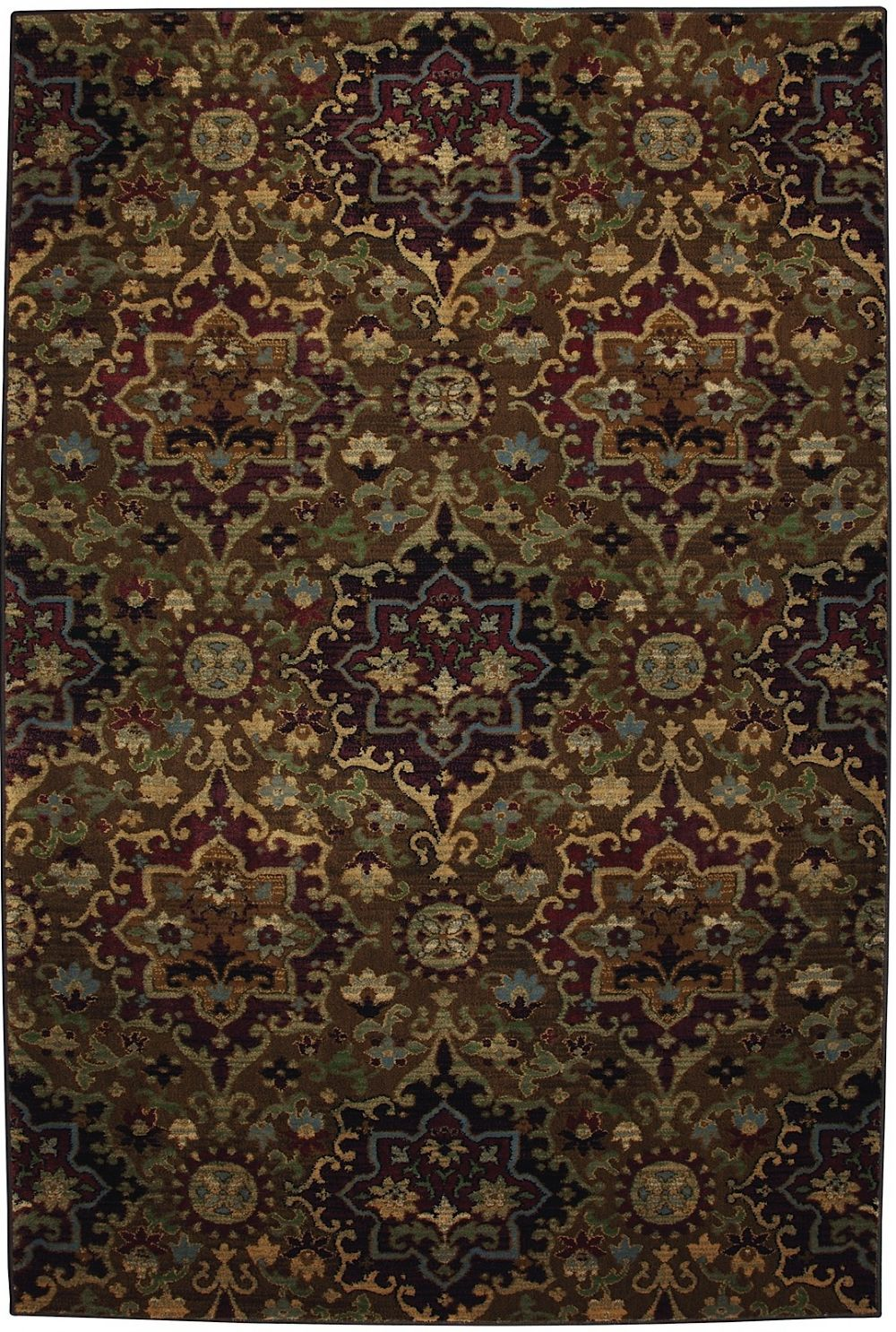 mohawk casablanca med dark gold contemporary area rug collection