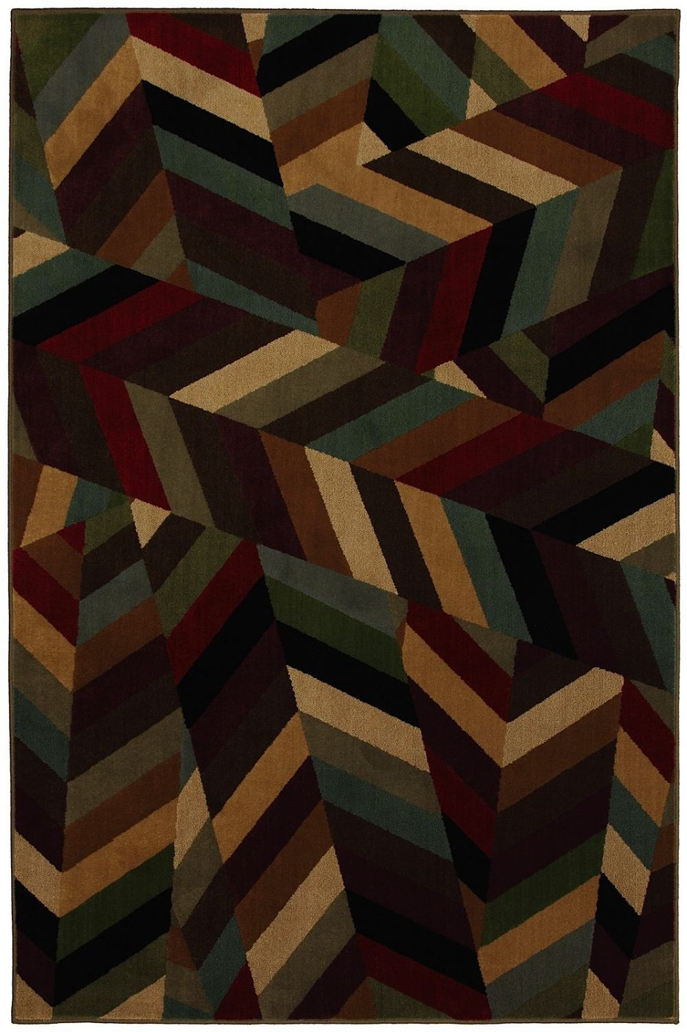 mohawk kaleidoscope perspective contemporary area rug collection