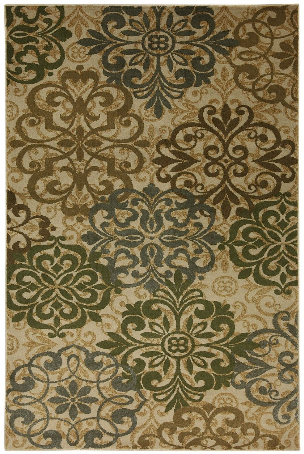 mohawk abstract lace beige contemporary area rug collection