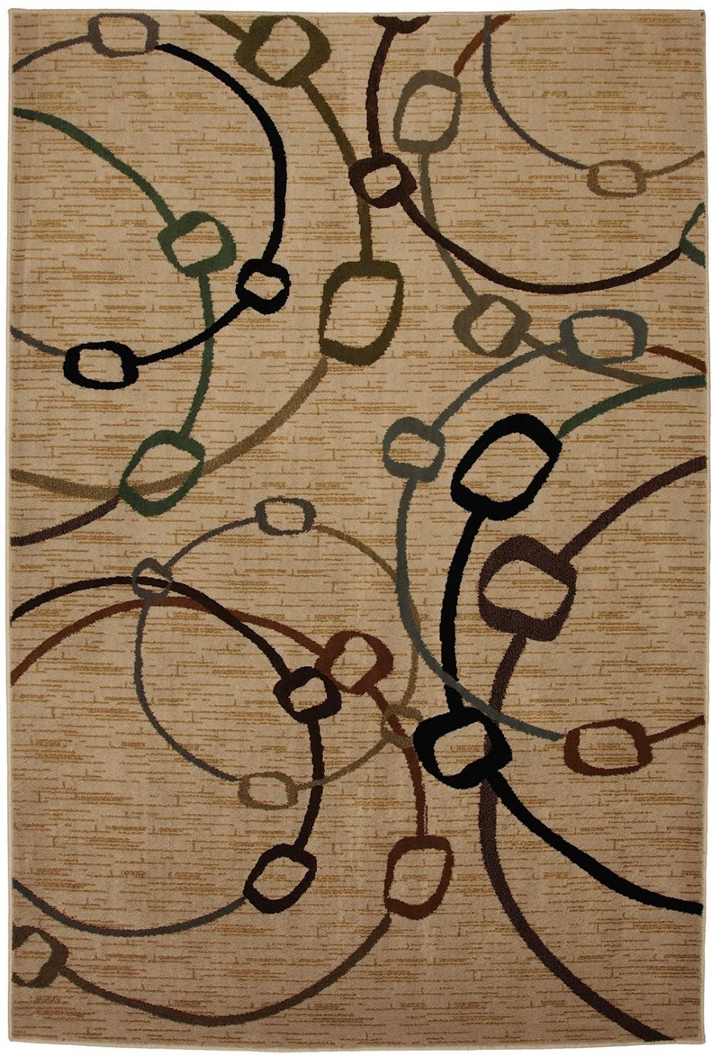 mohawk bangles beige contemporary area rug collection