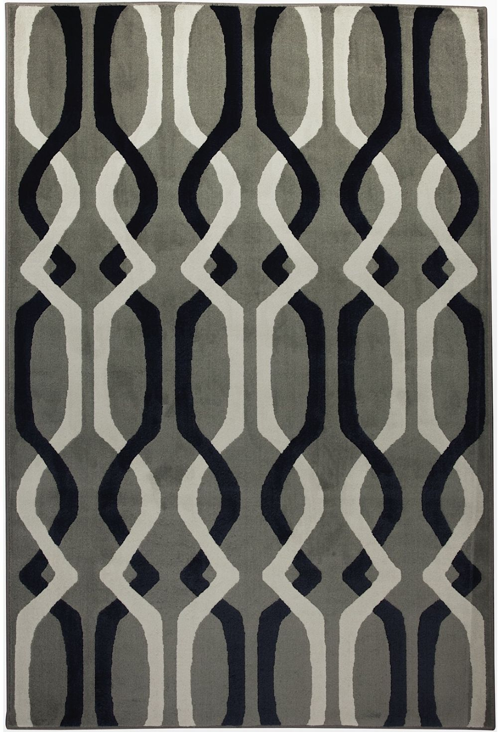 mohawk linked lines shitake contemporary area rug collection