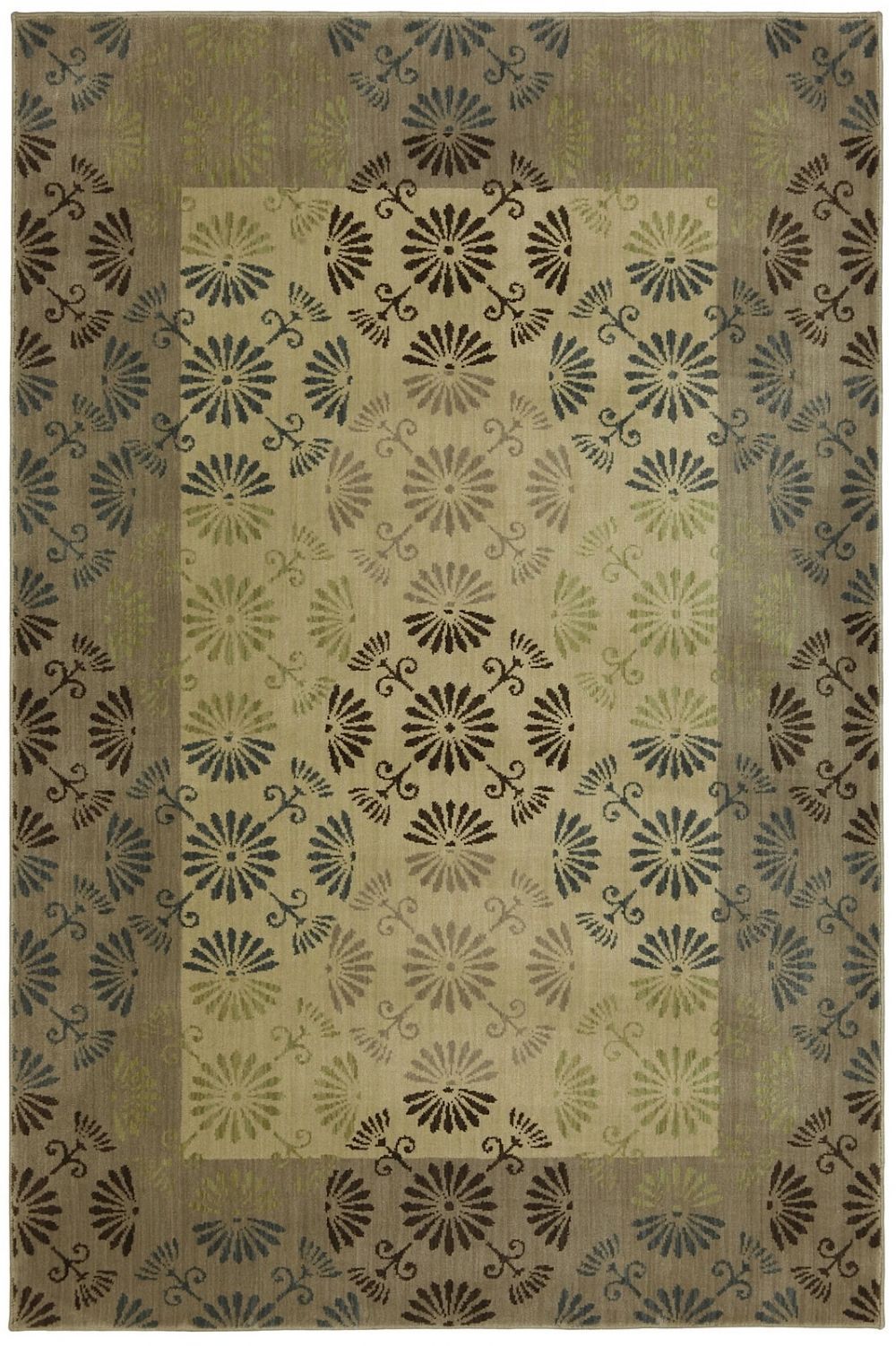 mohawk reflections bordered transitional area rug collection