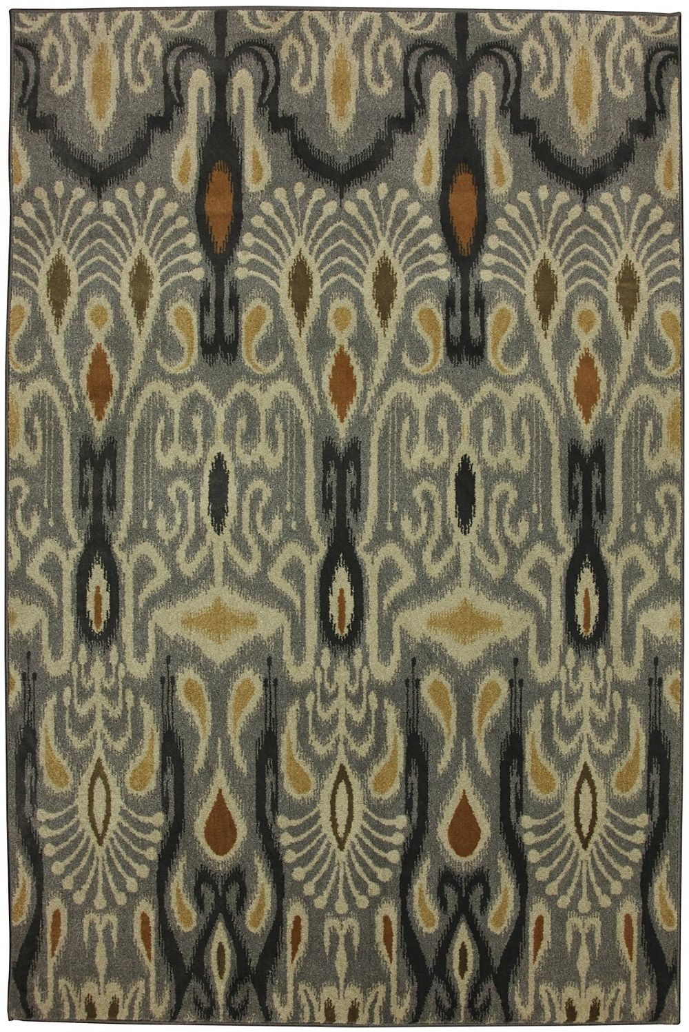 mohawk dorrego ikat sand beige contemporary area rug collection