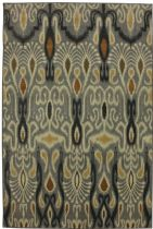 Mohawk Contemporary Dorrego Ikat Sand Beige Area Rug Collection