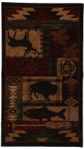 Rectangle Area Rug, Machine Made Rug, Transitional, Wyoming, Mohawk Rug