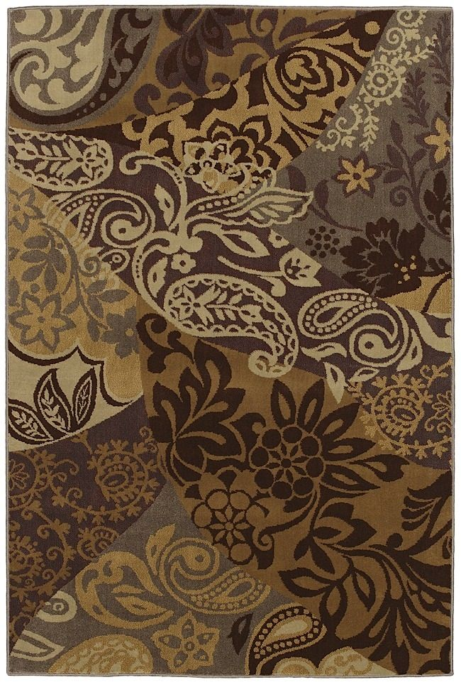 mohawk paisley patchwork contemporary area rug collection