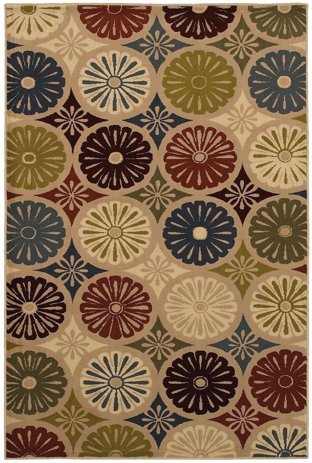 mohawk yoyo multi contemporary area rug collection