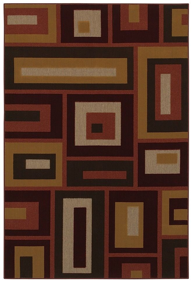 mohawk rectangles contemporary area rug collection