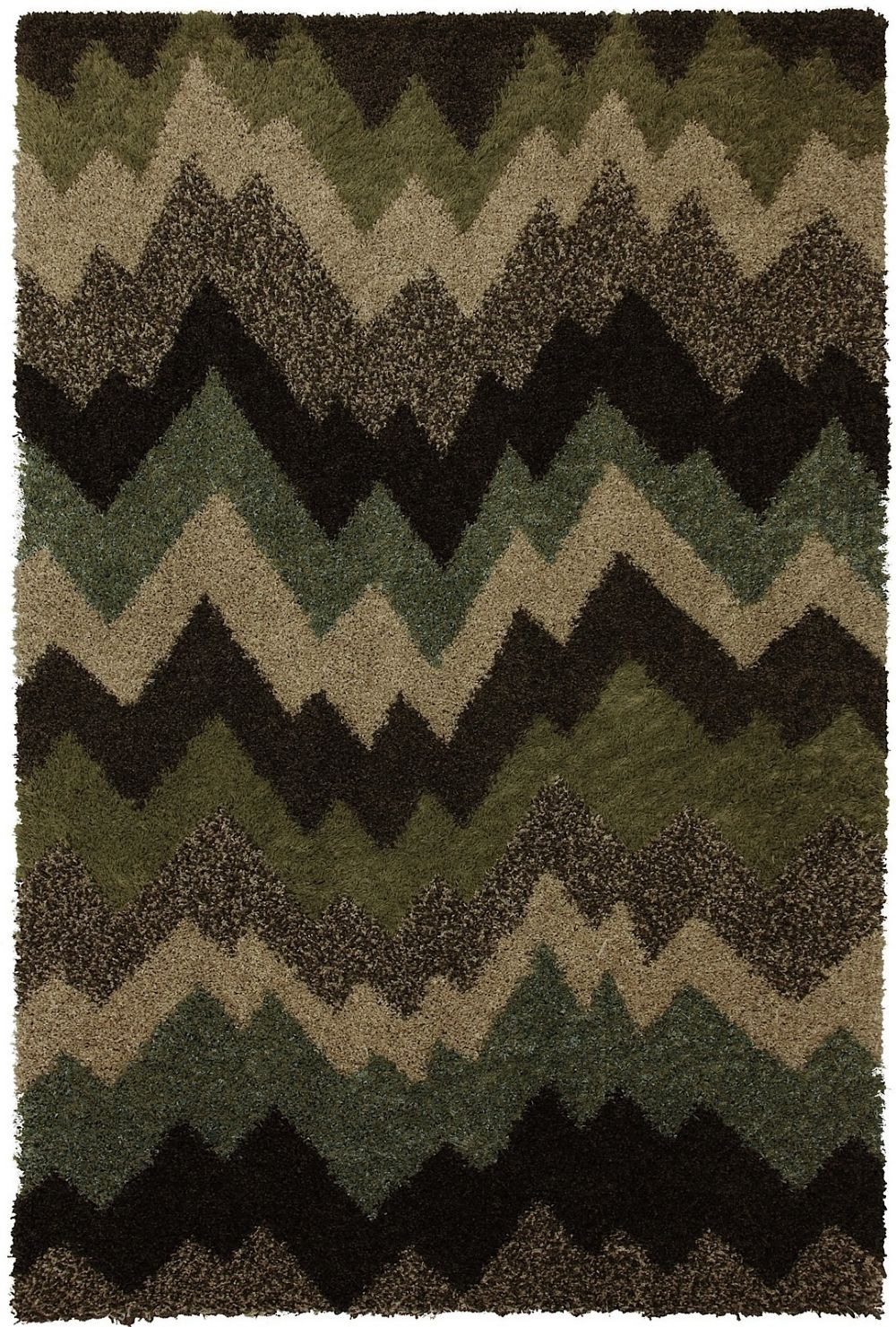 mohawk zig zag shag shag area rug collection