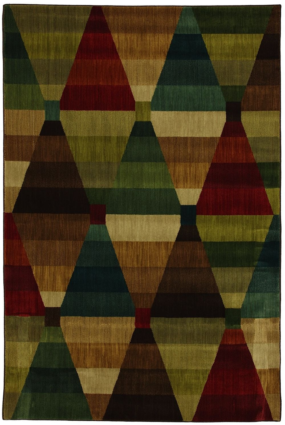 mohawk kaleidoscope diamonds contemporary area rug collection