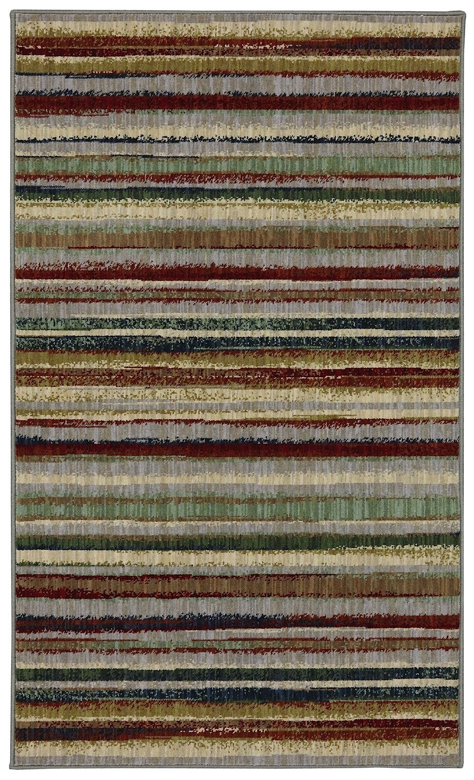karastan crossroads solid/striped area rug collection