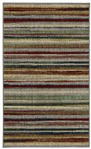 Karastan Solid/Striped Crossroads Area Rug Collection