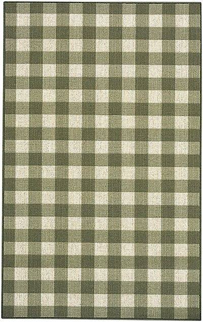 karastan french check contemporary area rug collection