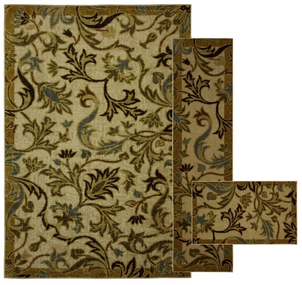 mohawk lancaster multi - set of 3 (8x10, 2x8, 1.8x2.10) contemporary area rug collection
