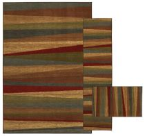 Mohawk Contemporary Mayan Sunset Sierra - Set of 3 (8x10, 2x8, 1.8x2.10) Area Rug Collection