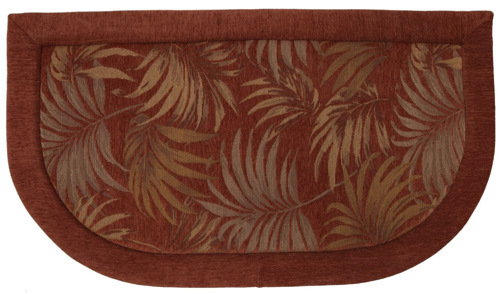mohawk tossed palm memory foam kitchen slice contemporary area rug collection