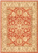 eCarpet Gallery Traditional Lotus Garden Btor Area Rug Collection