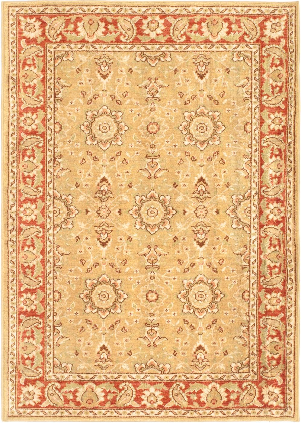 ecarpet gallery lotus garden espresso traditional area rug collection