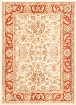 eCarpet Gallery Traditional Lotus Garden Champagne Area Rug Collection