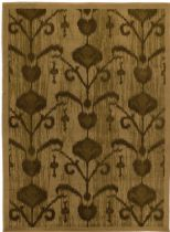 eCarpet Gallery Contemporary Ikat Vine Area Rug Collection