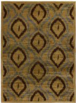 eCarpet Gallery Contemporary Ikat Area Rug Collection