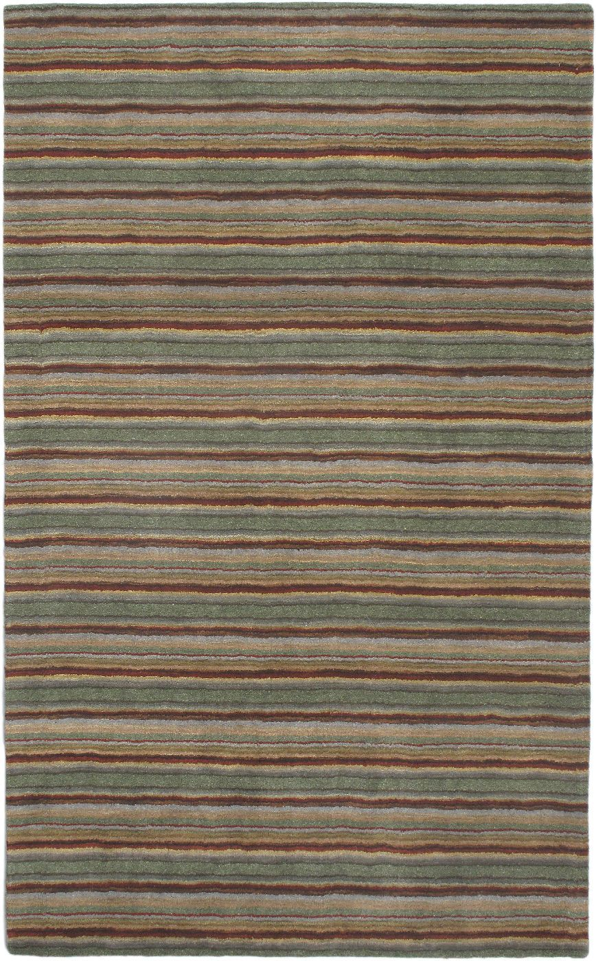 ecarpet gallery chic solid/striped area rug collection