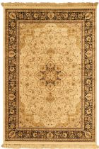 eCarpet Gallery Traditional Qum Kashmir Area Rug Collection