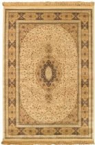 eCarpet Gallery Traditional Kashan Kashmir Area Rug Collection