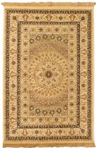 eCarpet Gallery Traditional Isfahan Kashmir Area Rug Collection