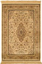eCarpet Gallery Traditional Nain Kashmir Area Rug Collection