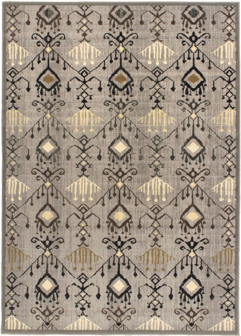 ecarpet gallery ikat glitter southwestern/lodge area rug collection